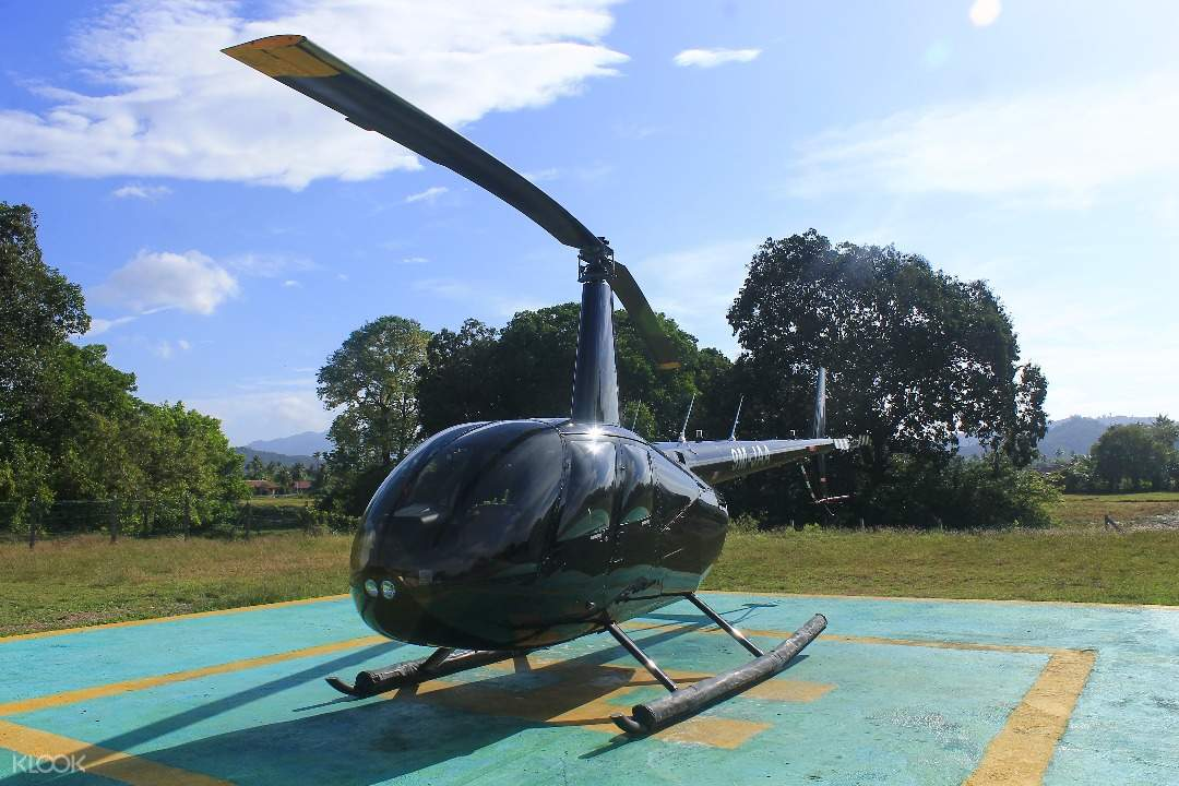 langkawi helicopter tour