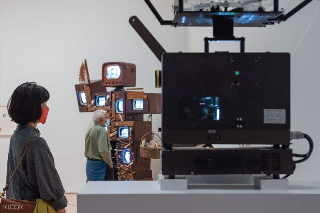 Nam June Paik, installation view at the San Francisco Museum of Modern Art, May 8-3 Oct, 2021: Photo: Adam Jacobs Photography