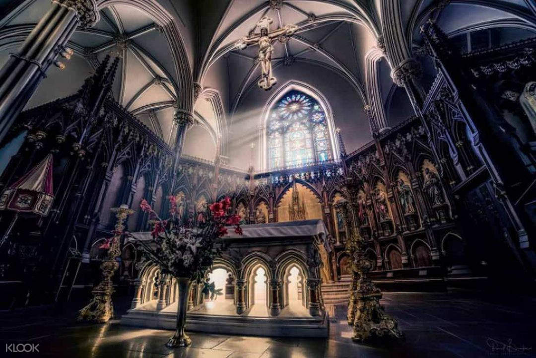 St Patrick's Old Cathedral interior