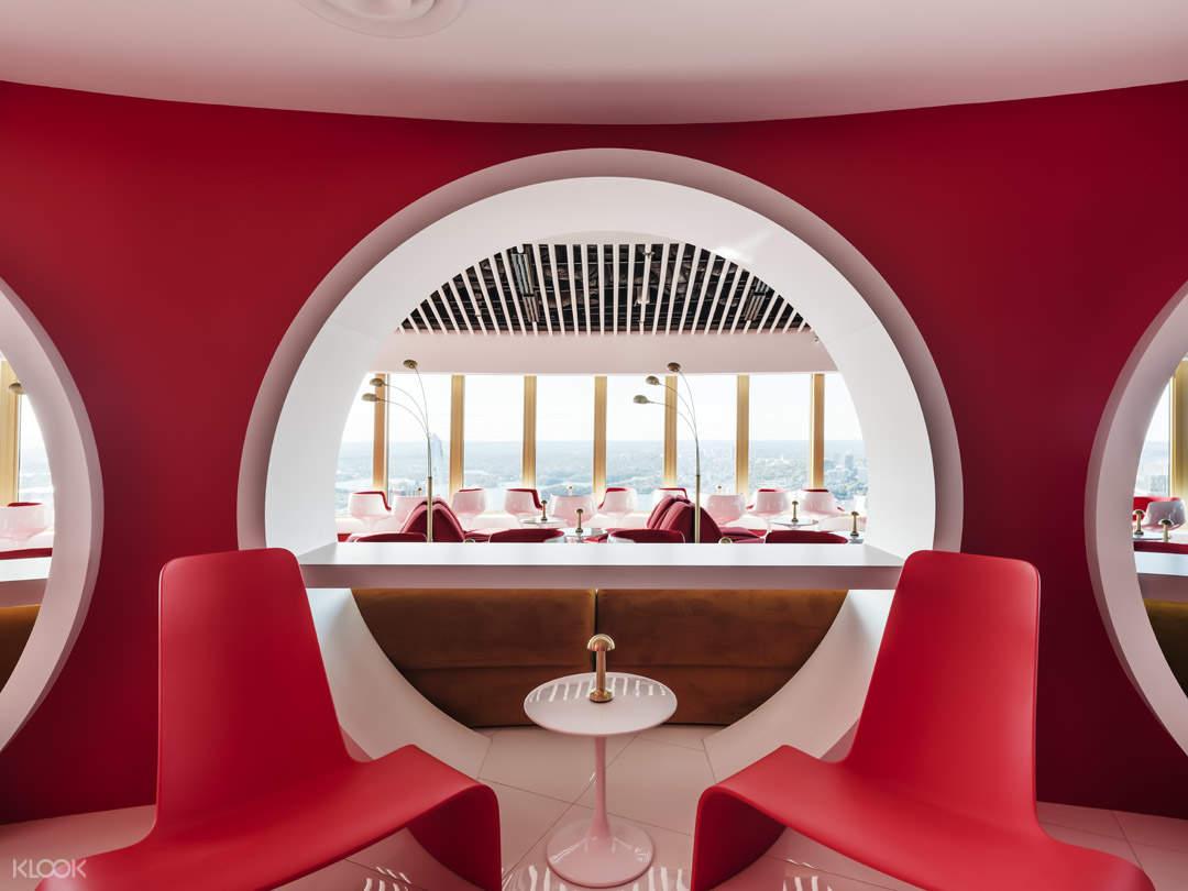 Bar 83 at Sydney Tower 2 - Credit Robert Walsh Photography