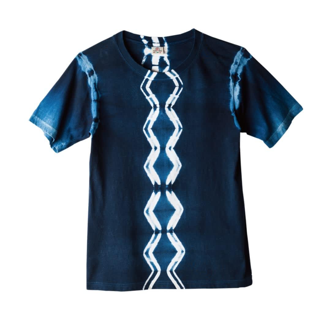 藍染棉 T-shirt DIY