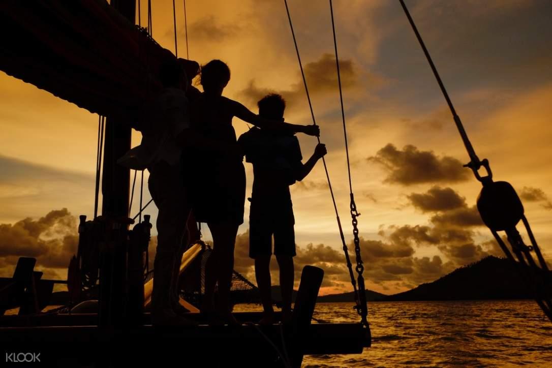june bahtra sunset cruise of phang nga bay