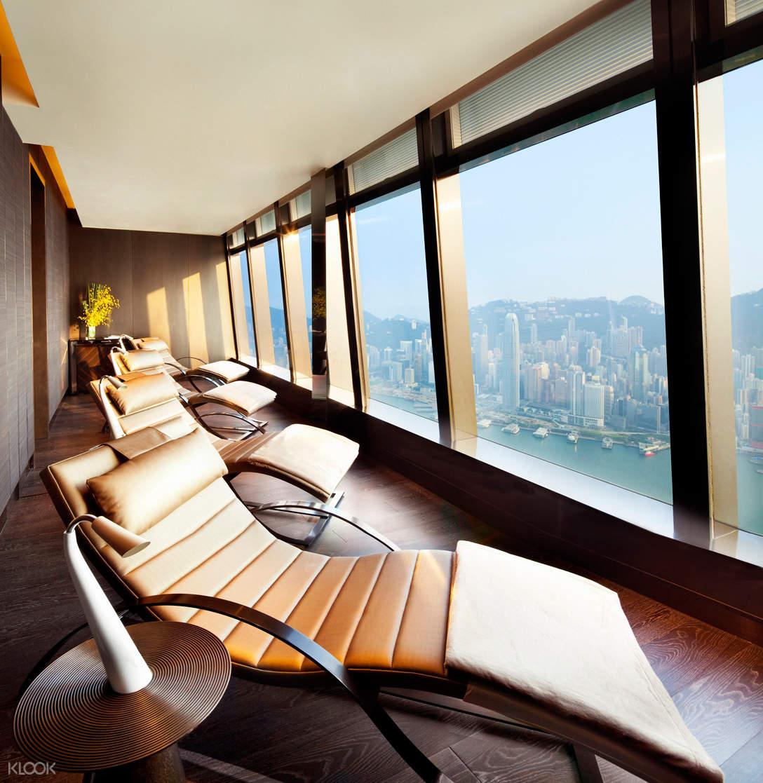 香港麗思卡爾頓水療中心休閑室