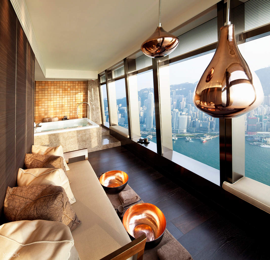 香港麗思卡爾頓水療中心雙人Spa套房