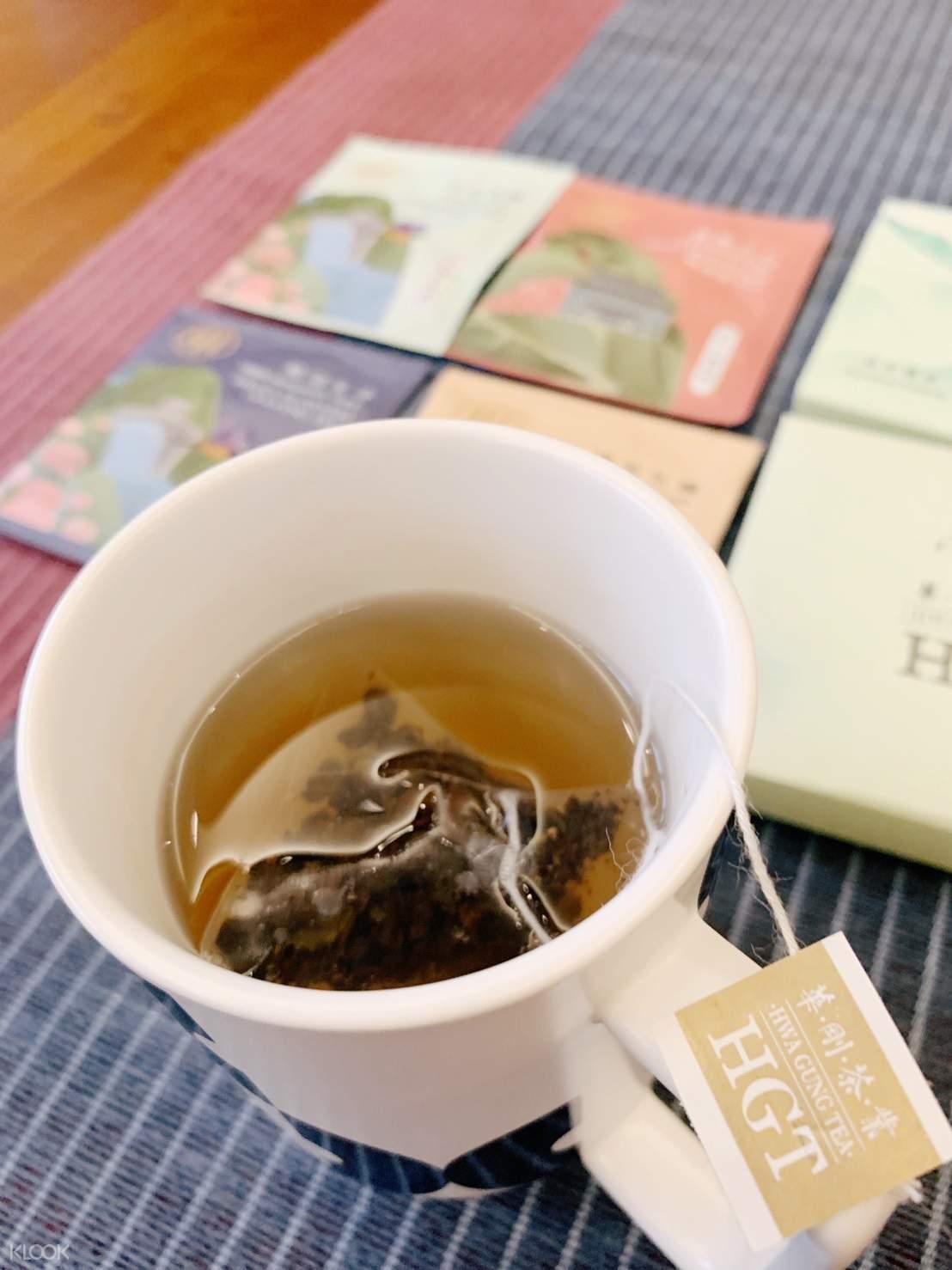 茶包體驗組