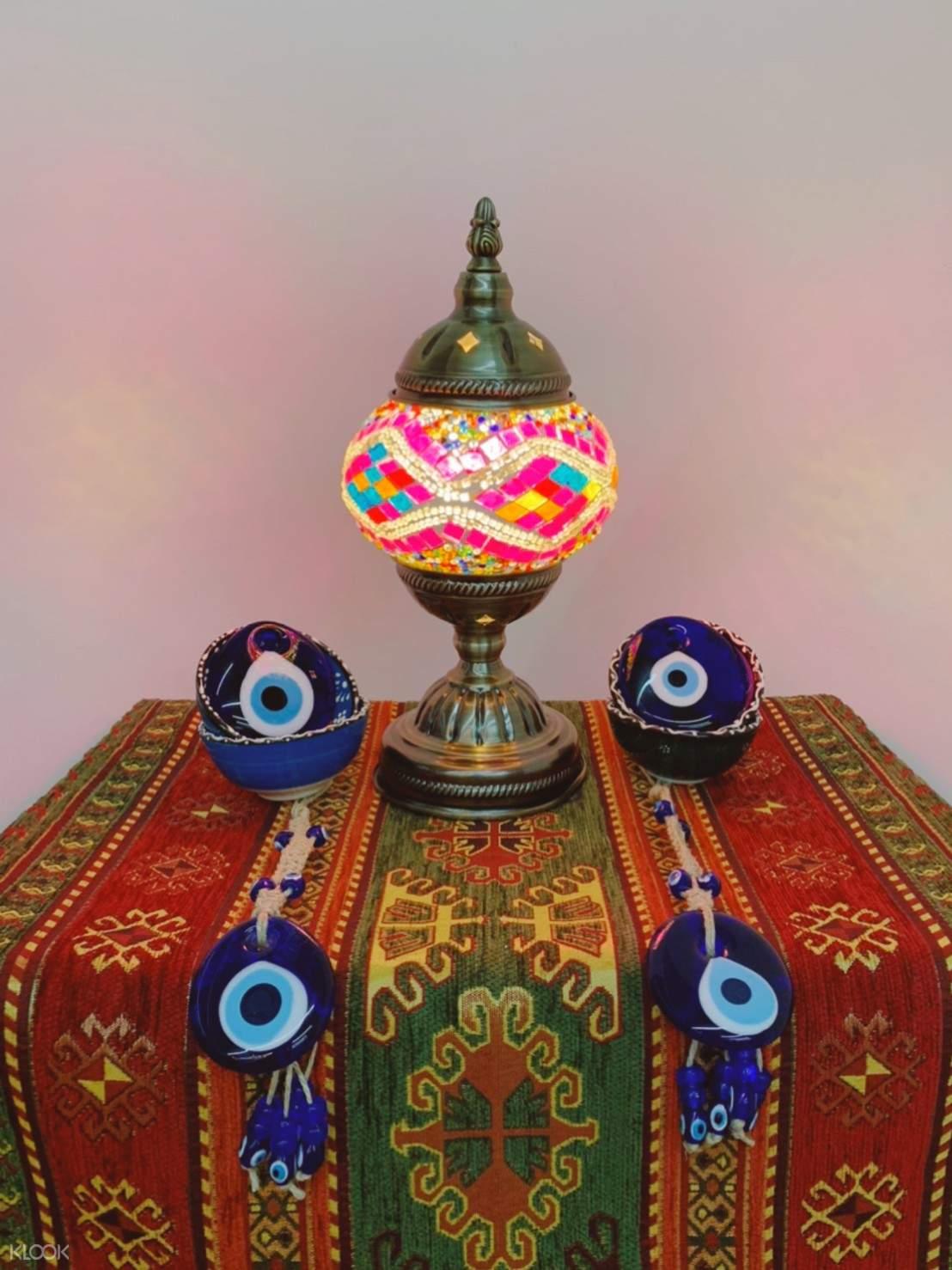 台北手作土耳其馬賽克燈 by Mosaic Arts House