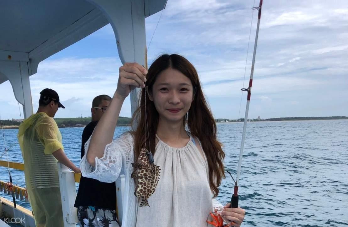 隘門沙灘海釣體驗