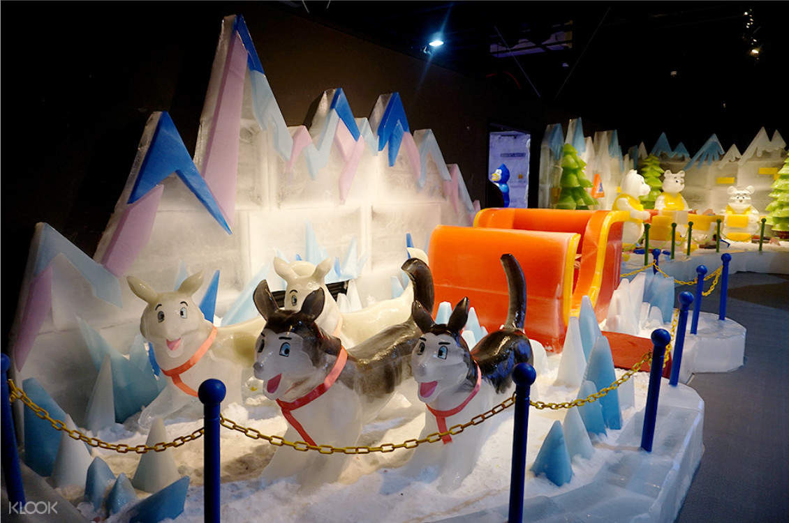 Freezing Island Theme Park Ticket