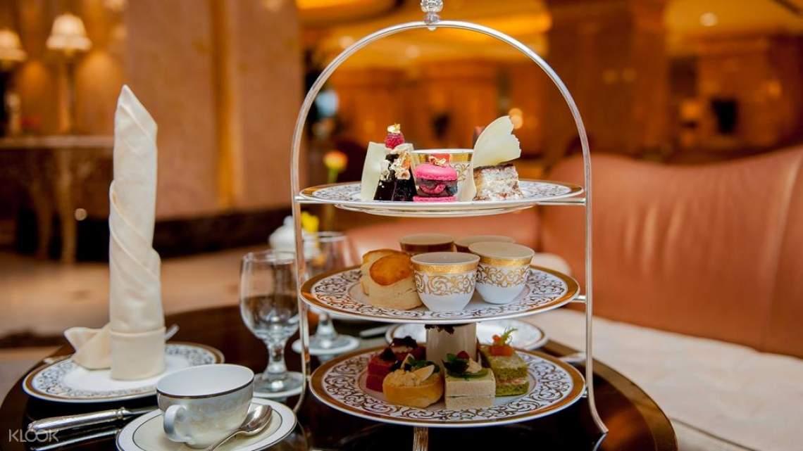 afternoon tea emirates palace hotel