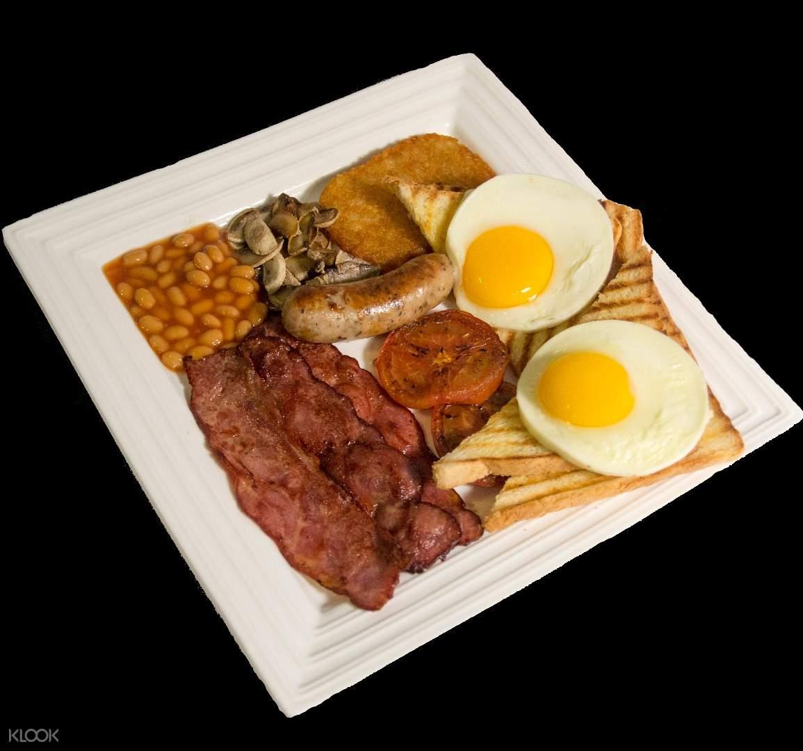 Breakfast at Lax Café