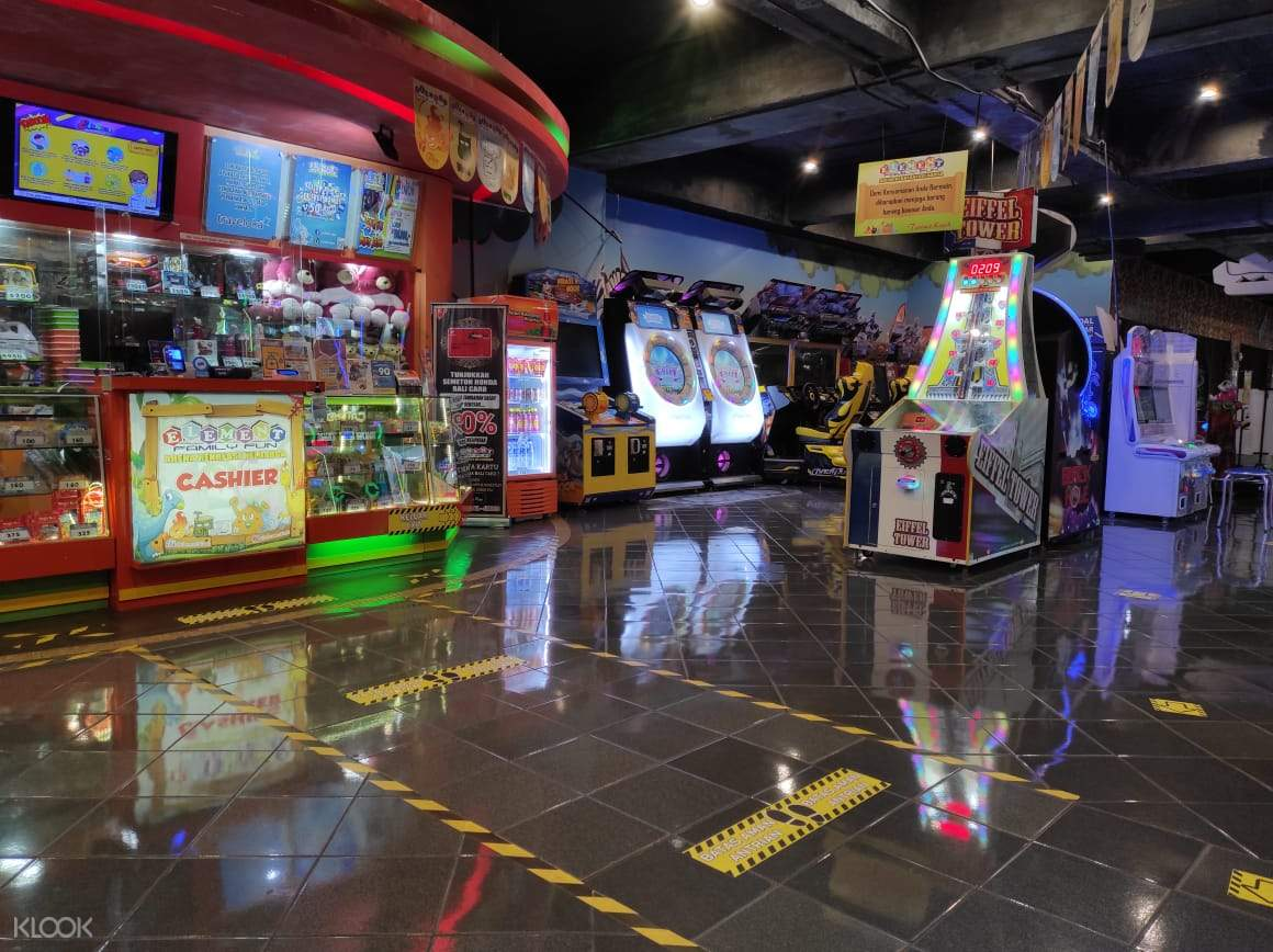 Full of fun and interesting games with different rides