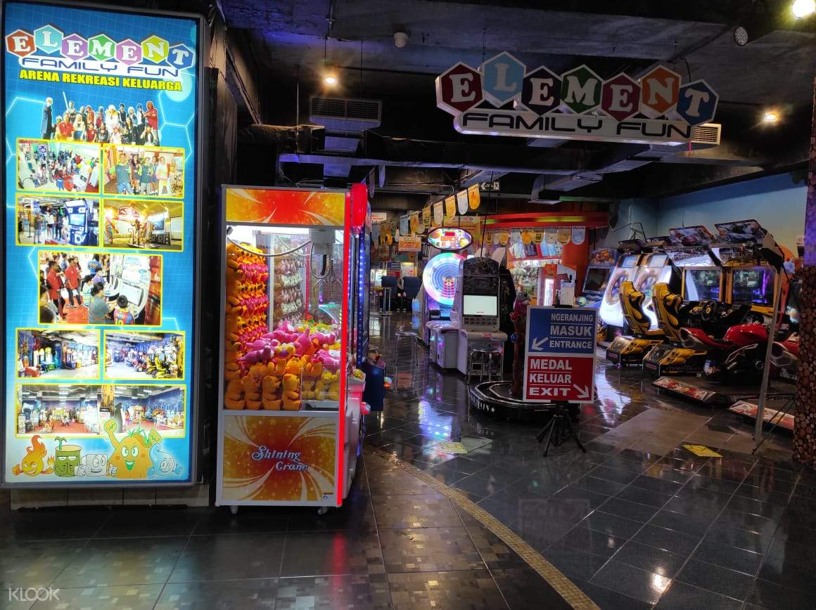 Be sure to join in the fun and spend wonderful time at Element Family Fun Game Center
