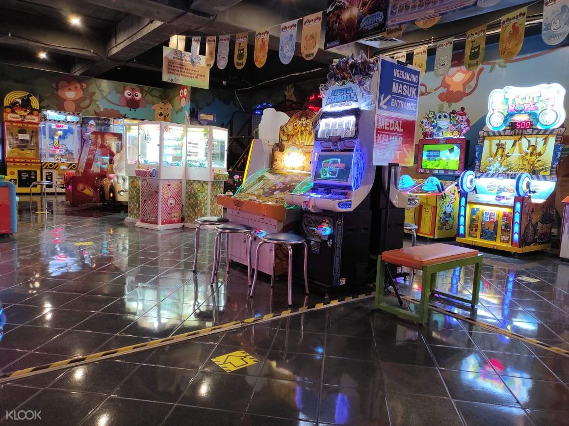 Bundle of exciting and fun game facilities that bring joy and interaction