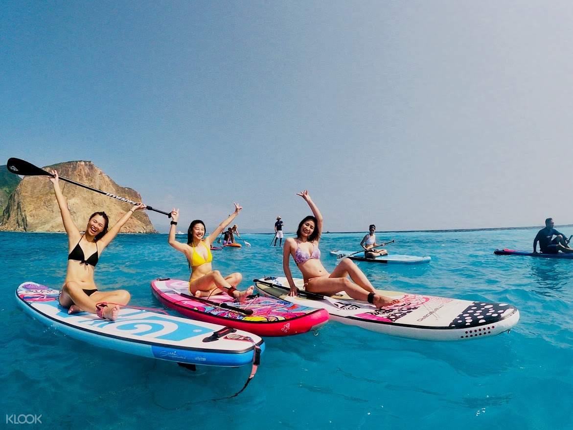 龜山島牛奶海SUP