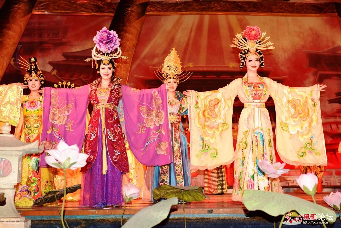 Dream Back to Tang Dynasty ticket