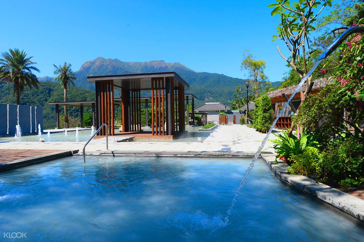 台北陽明山天籟度假酒店- 雙人湯屋溫泉體驗
