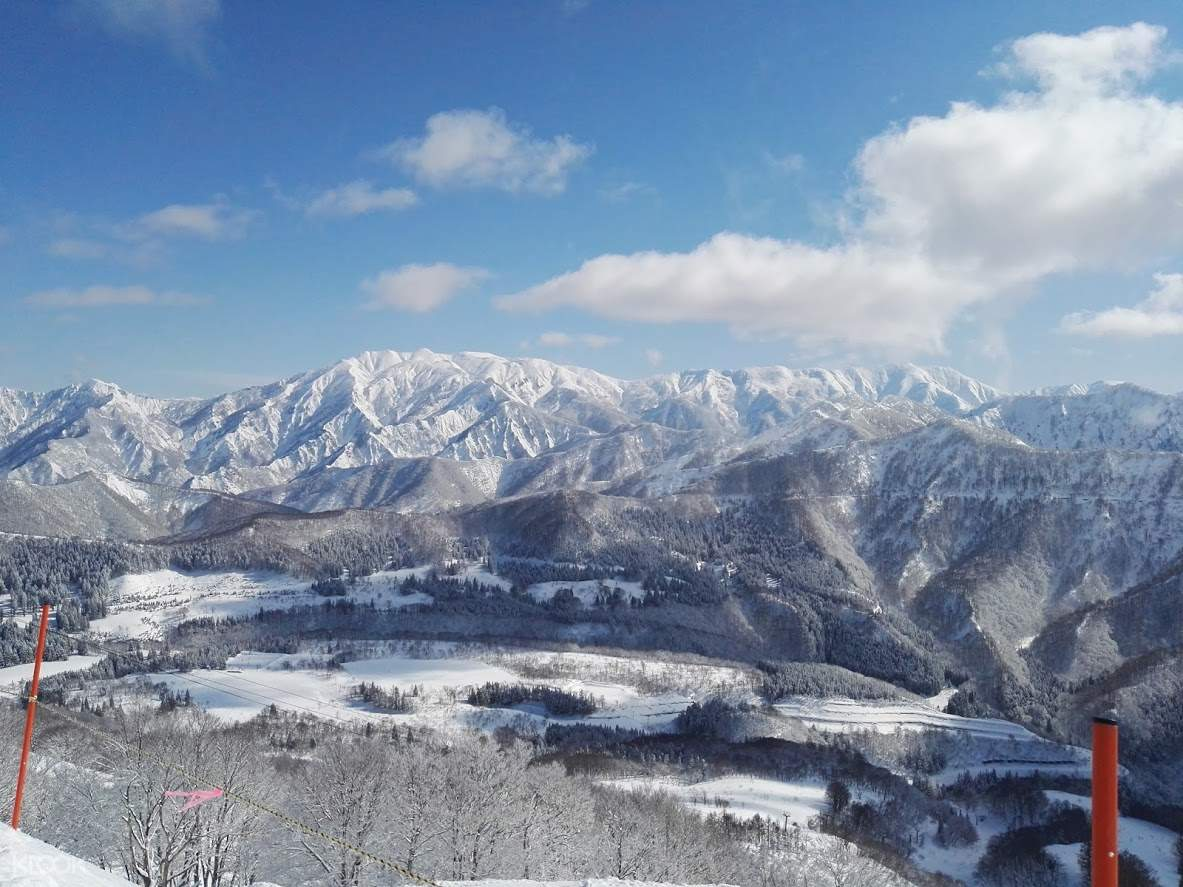 gorgeous view of the mountains