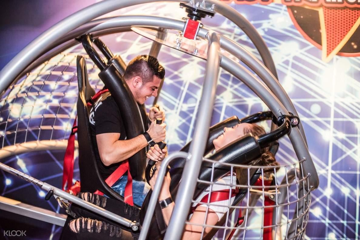 wonderworks Orlando astronaut training