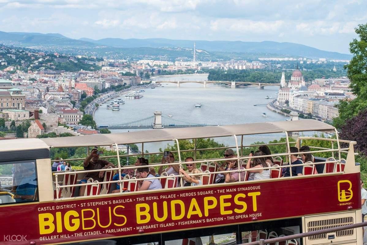budapest big bus tour