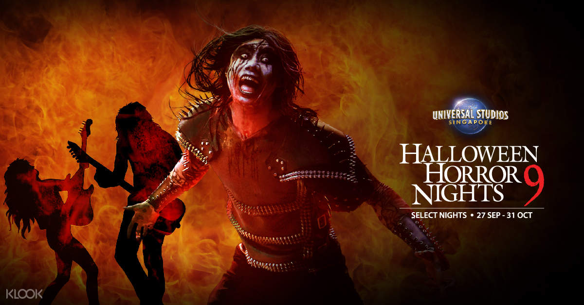 Halloween Fright Night China Movie.Universal Studios Singapore Halloween Horror Nights 9