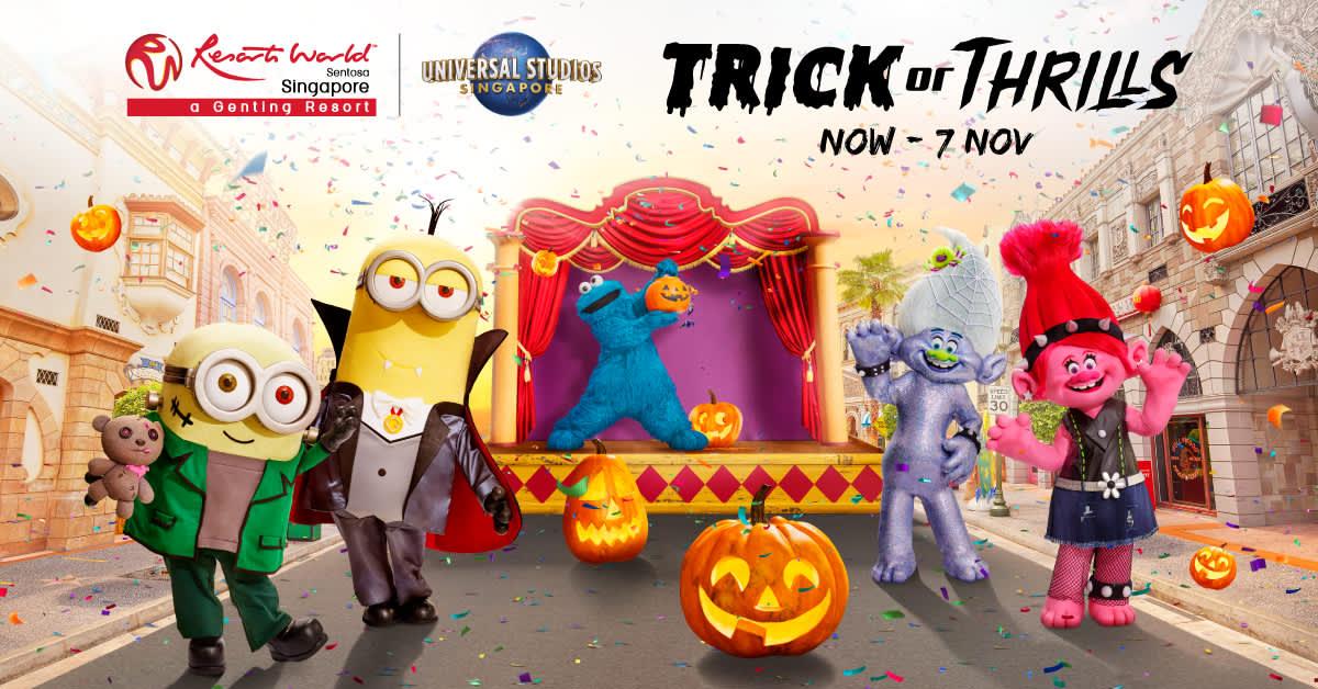 trick or thrills halloween costume