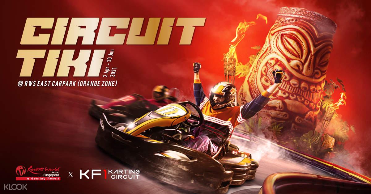Circuit Tiki KF1 Go Kart
