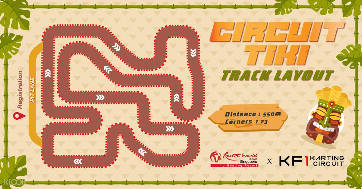 Circuit Tiki Track Layout