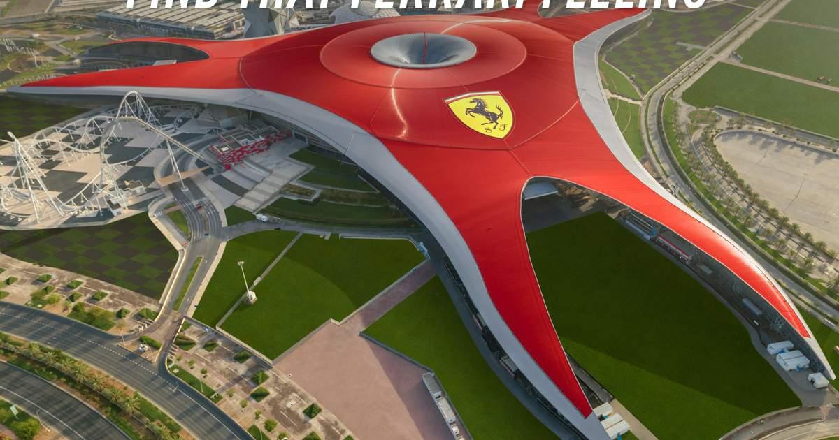 Ferrari World Ticket In Yas Island Abu Dhabi Klook Canada