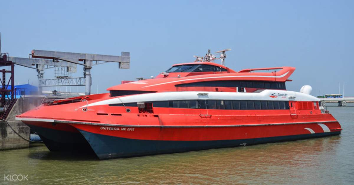 Hong Kong to Macau TurboJet Ferry Tickets - Klook