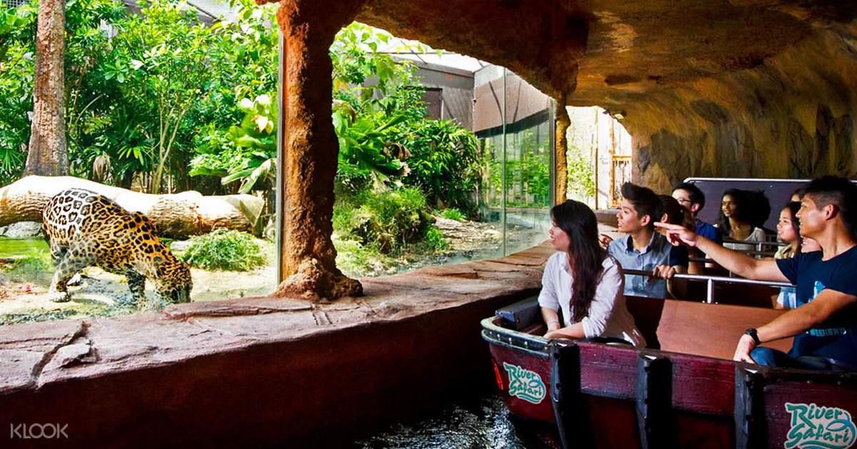 Singapore River Safari - Klook
