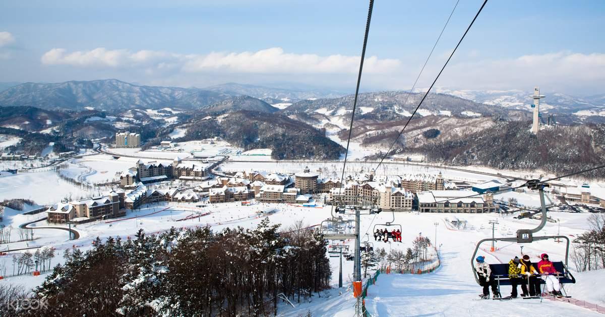 ทัวร์อัลเพนเซีย สกีรีสอร์ต (Alpensia Ski Resort) ในพย็องชัง (Pyeongchang)  หนึ่งวันจากกรุงโซล