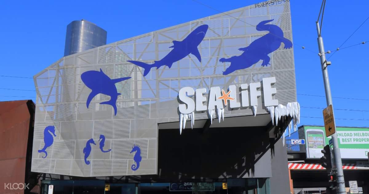 Melbourne Sea Life Aquarium Discount Tickets (Bar Code