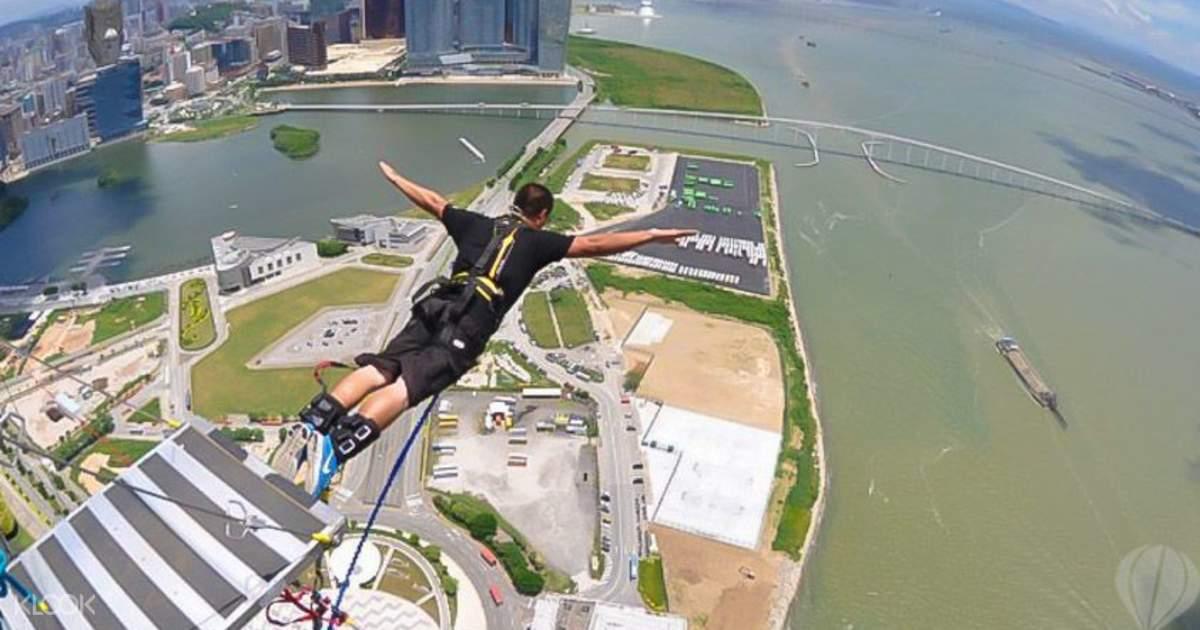 Macau Tower AJ Hackett Bungy Jump Tickets - Online Booking
