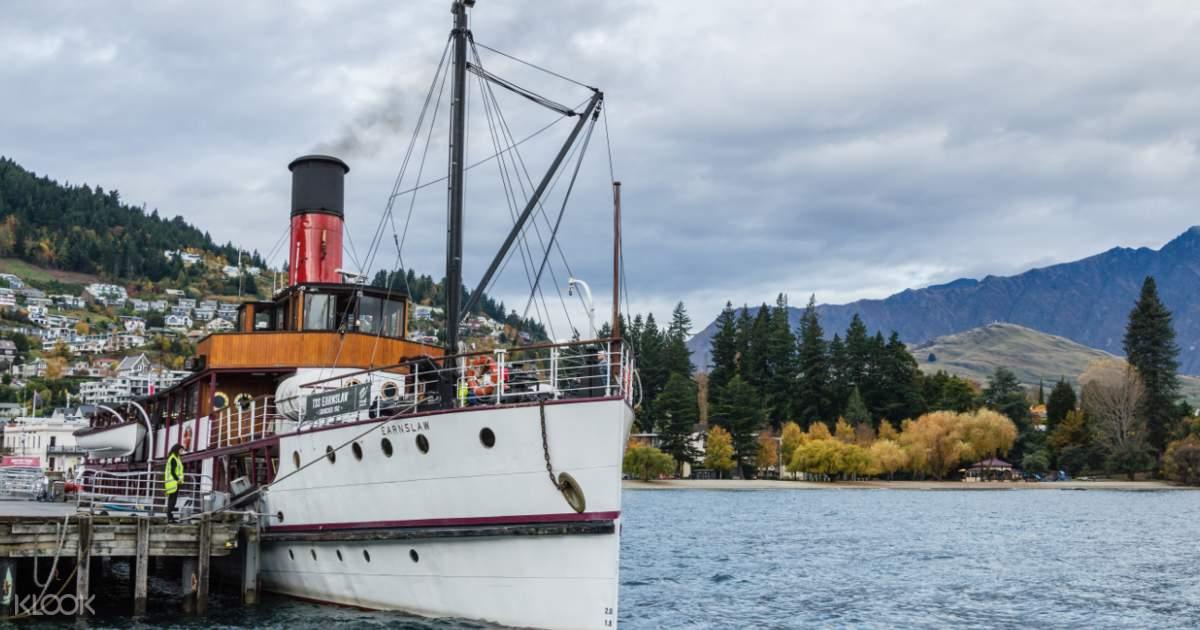 TSS Earnslaw Steamship Cruise - Klook