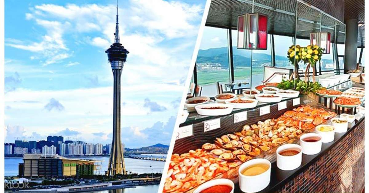 Lunch Buffet at Macau Tower - Klook