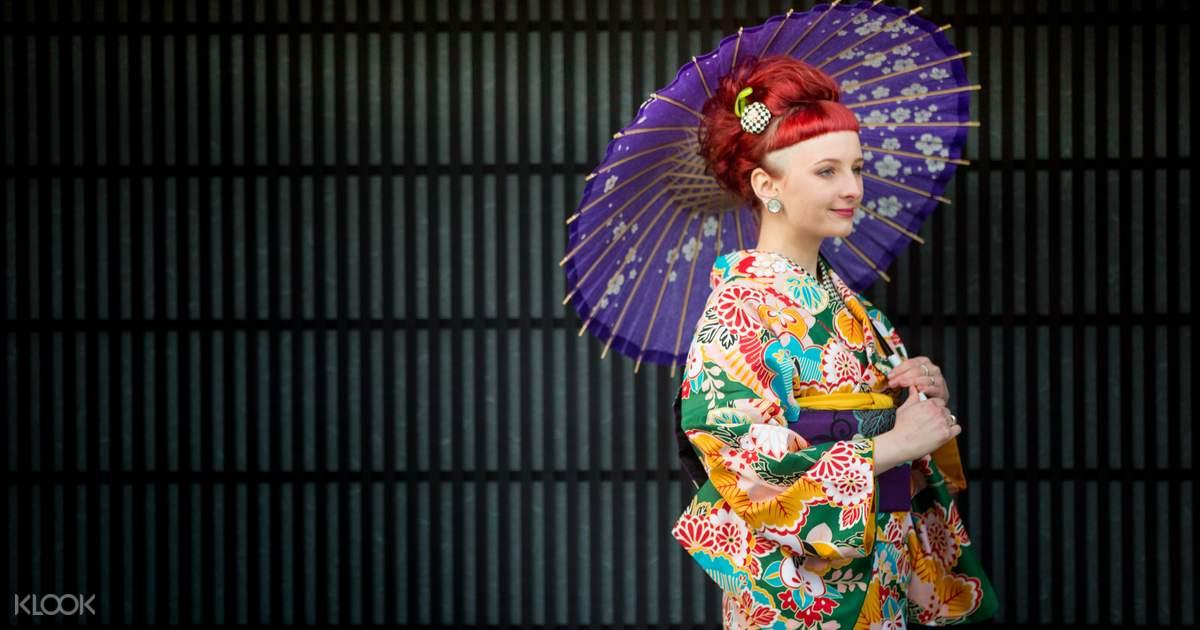 one day kyoto kimono rental klook