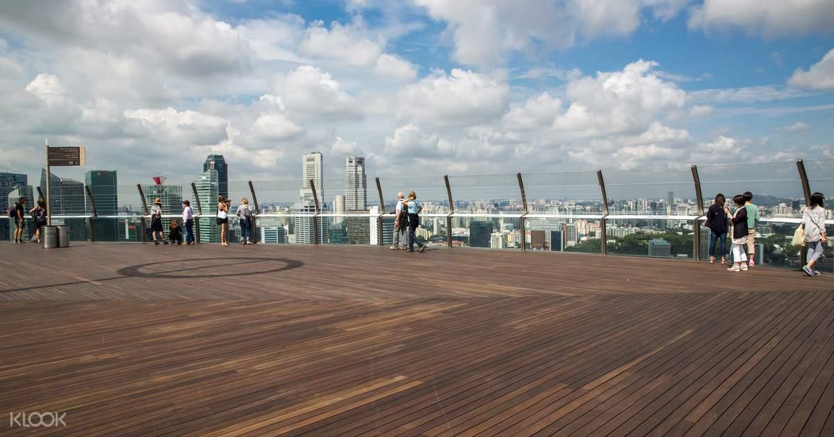 Marina Bay Sands Skypark Observation Deck - Klook