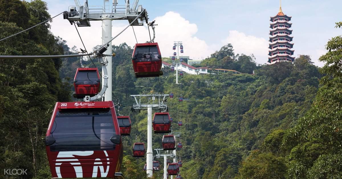 Awana SkyWay Gondola Cable Car (QR Code Direct Entry) di Genting Highlands,  Malaysia