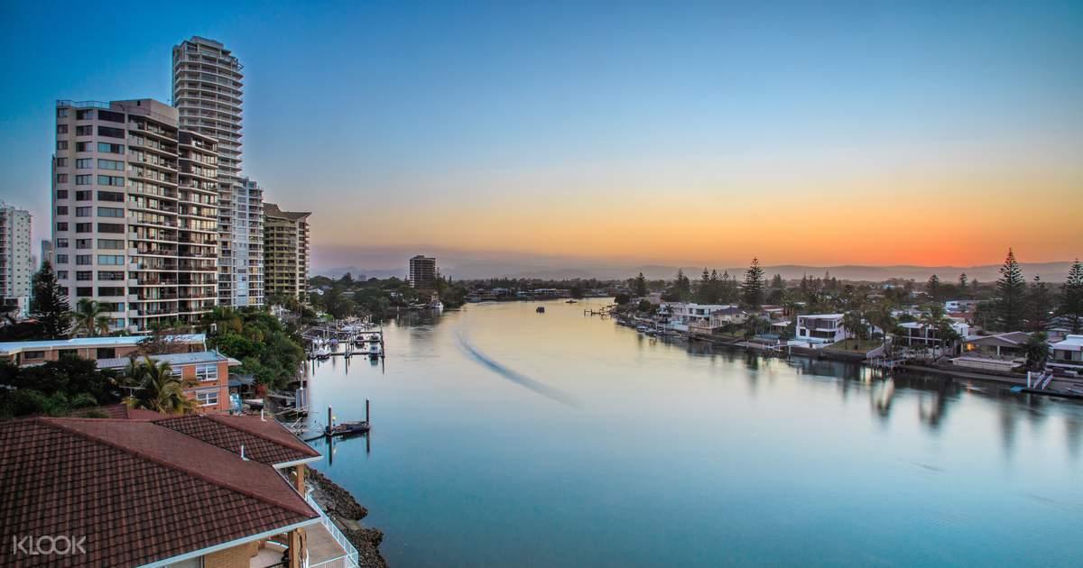 골드코스트 시티 투어 + 브리즈번 왕복 차량 이동 서비스 - Klook