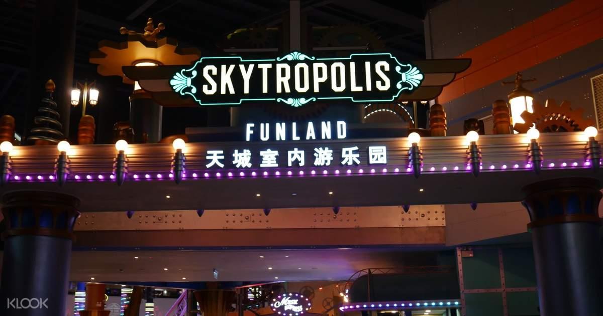Skytropolis Indoor Theme Park Ticket in Genting Highlands