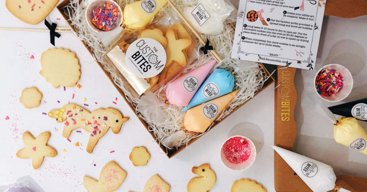 DIY Cookies Decorating Kit with Free Delivery in Singapore