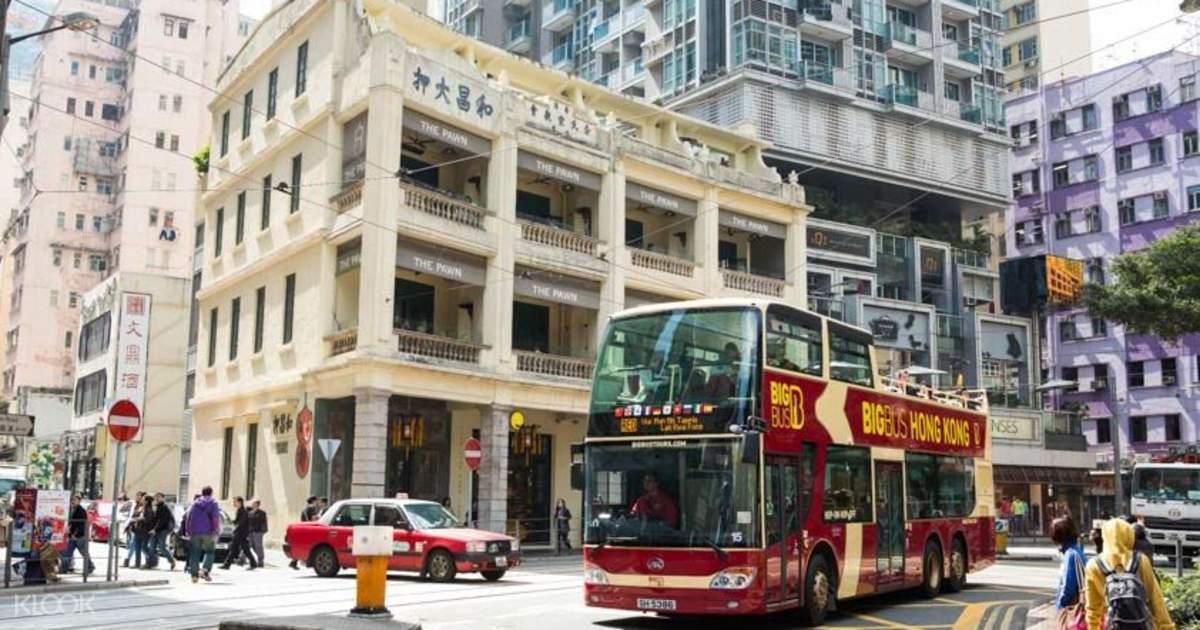 Hong Kong Big Bus Tour Ticket Discount - Klook