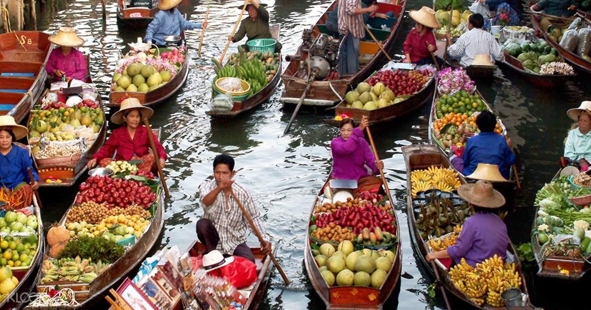 Vana Nava Waterpark & Floating Market Custom Tour from