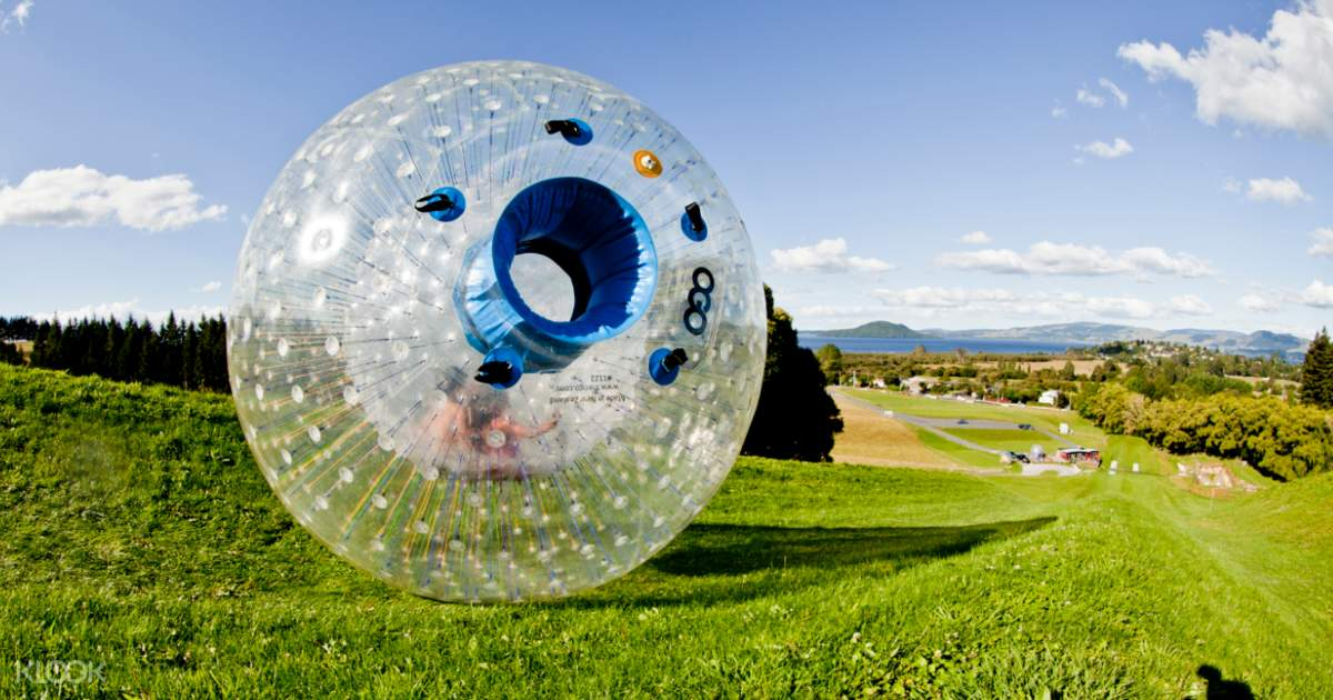 Up to 10% Off   ZORB Inflatable Ball Adventure in Rotorua - Klook India