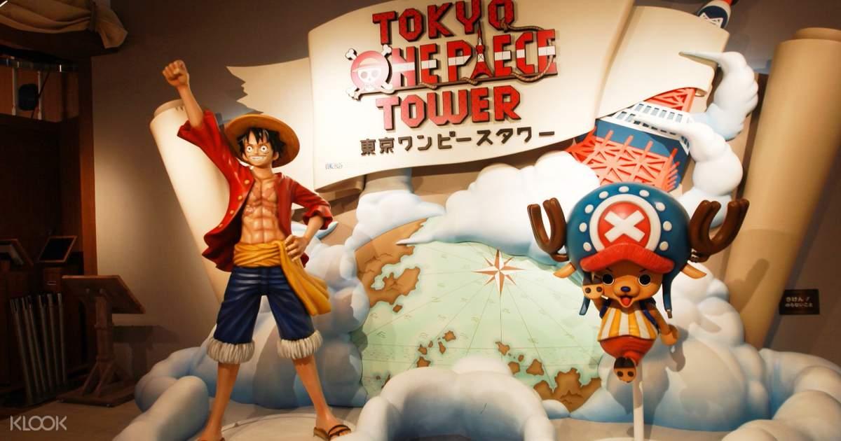 Tokyo One Piece Tower Admission Ticket - Klook