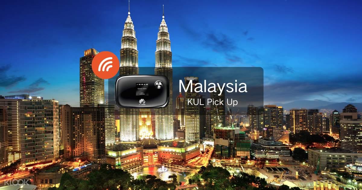 4G WiFi Device - Kuala Lumpur Airport Pick Up for Malaysia