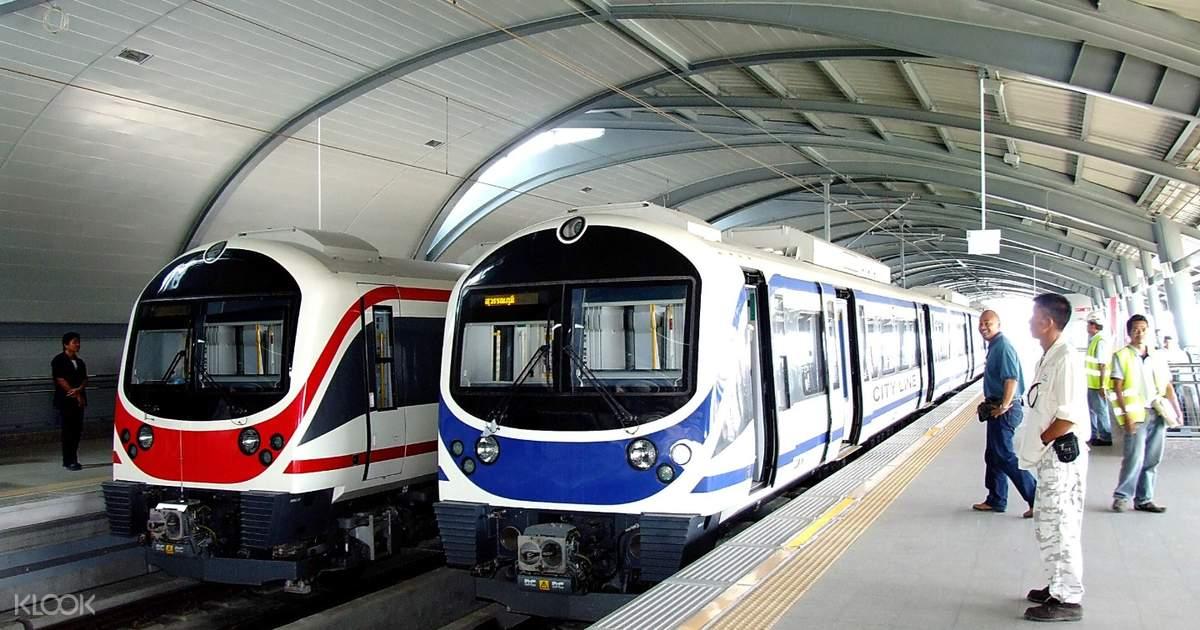 Bangkok Suvarnabhumi Airport Rail Link (ARL) Ticket (One