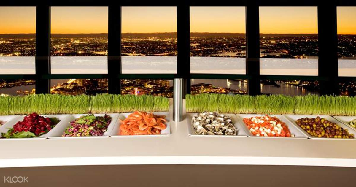 Sydney Tower Buffet with Soft Drinks - Klook
