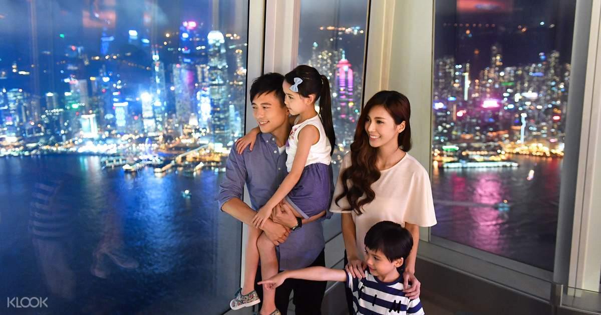 Sky100 Hong Kong Observation Deck Tickets - Klook