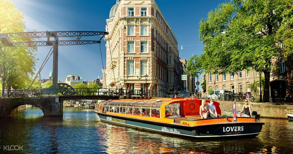 阿姆斯特丹1小時運河遊船 - KLOOK客路